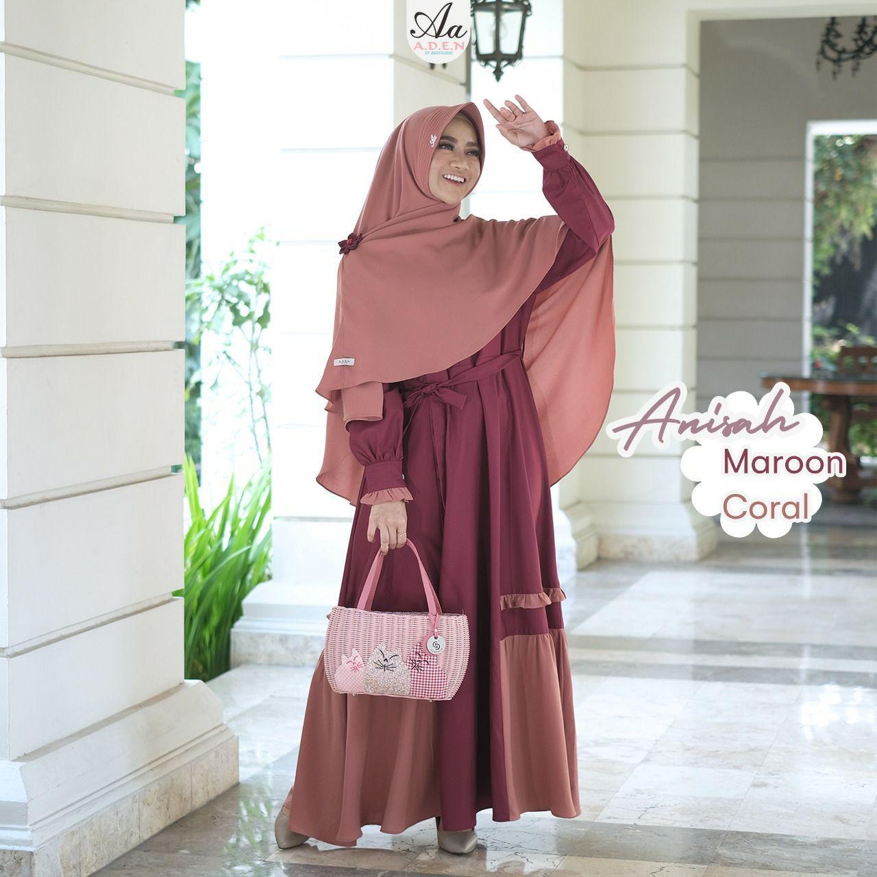 Gerai Olive Hijab Anisah Set By Aden