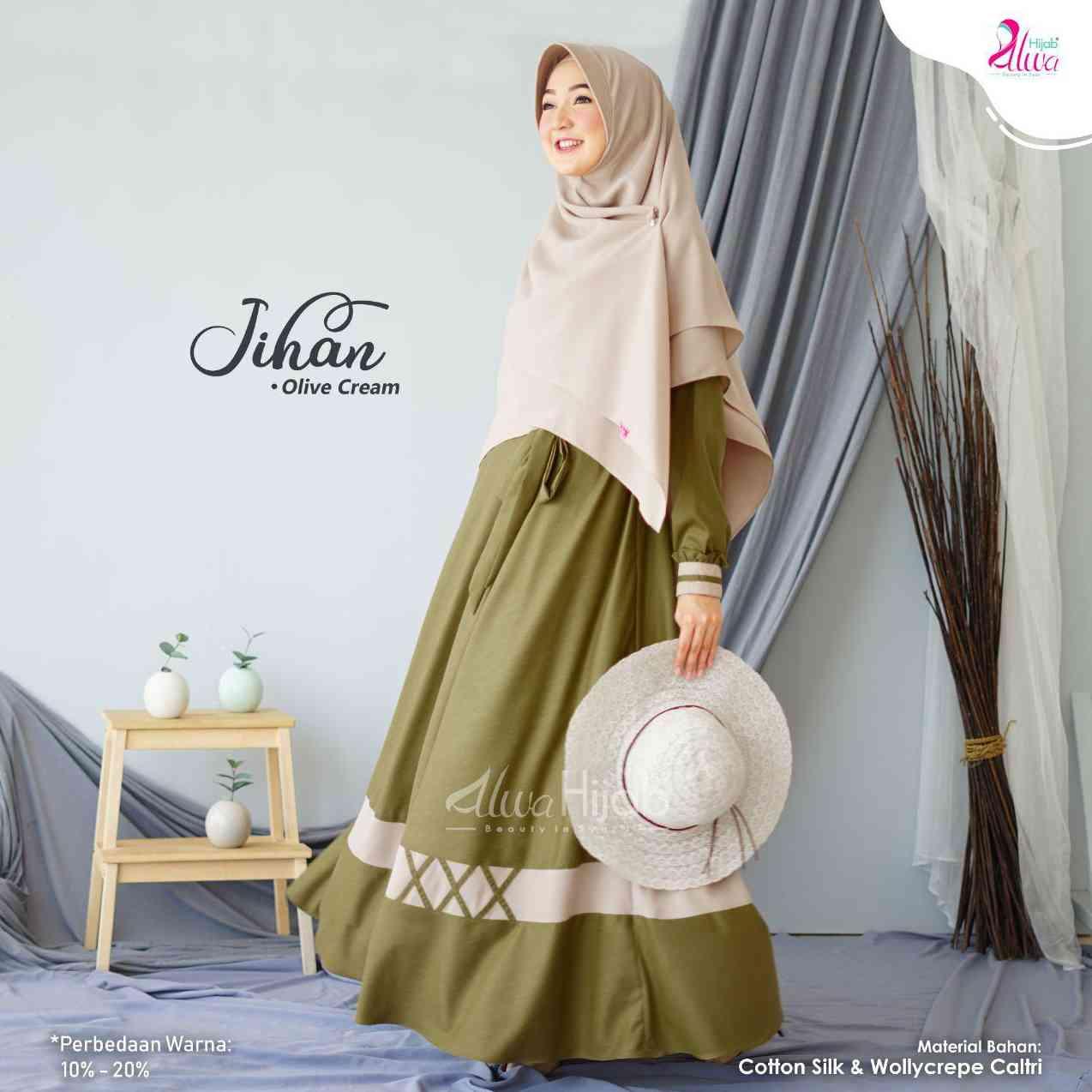 46+ Baru Warna Jilbab Yang Cocok Untuk Baju Coklat Putih